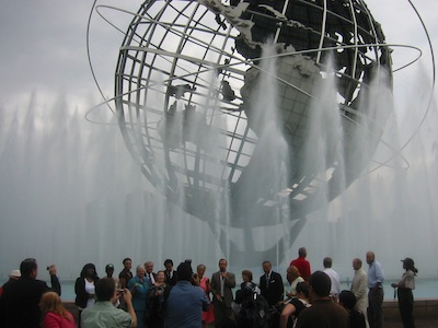 Unisphere Fountain